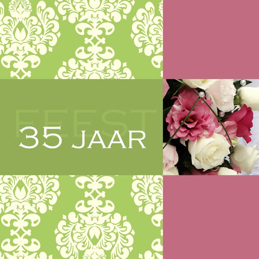 Uitnodigingen - Jubileumkaart 35 jaar Barok