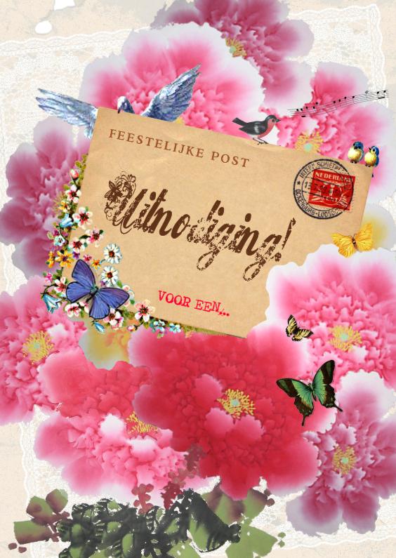 Uitnodigingen - KendieKaart-Uitnodiging-Postalic