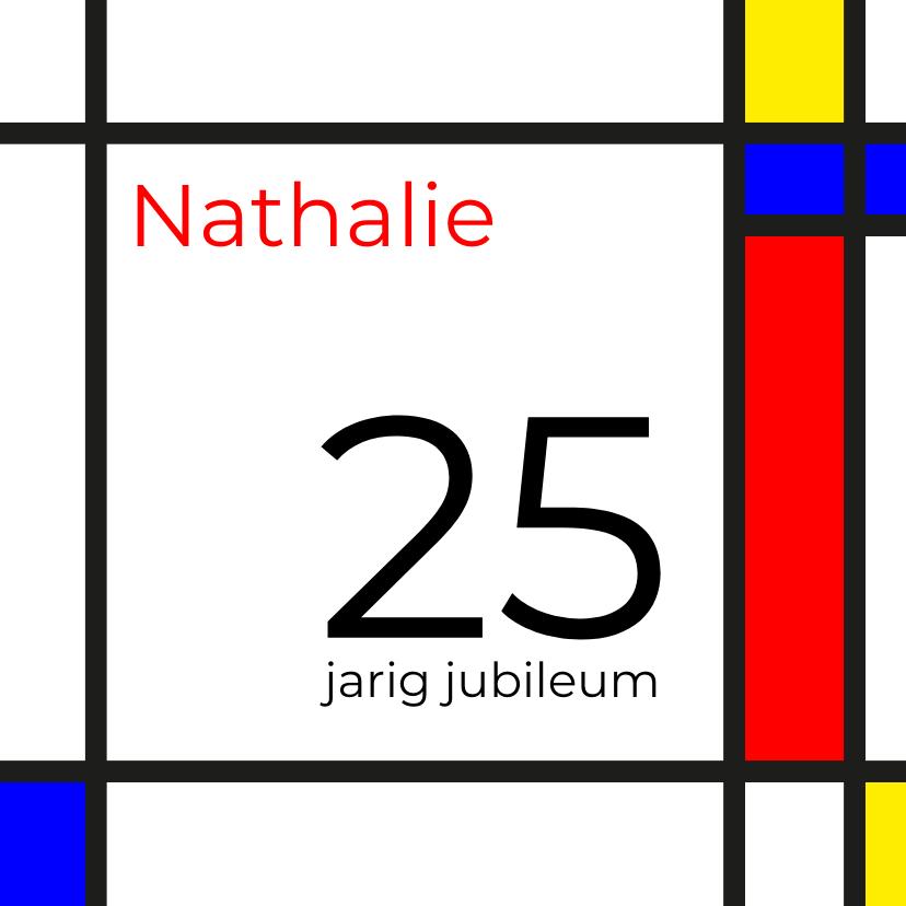 Uitnodigingen - Mondriaan 25 jaar