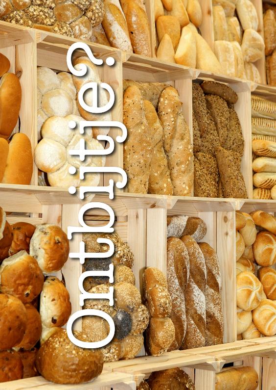 Uitnodigingen - Ontbijtje - Brood 1