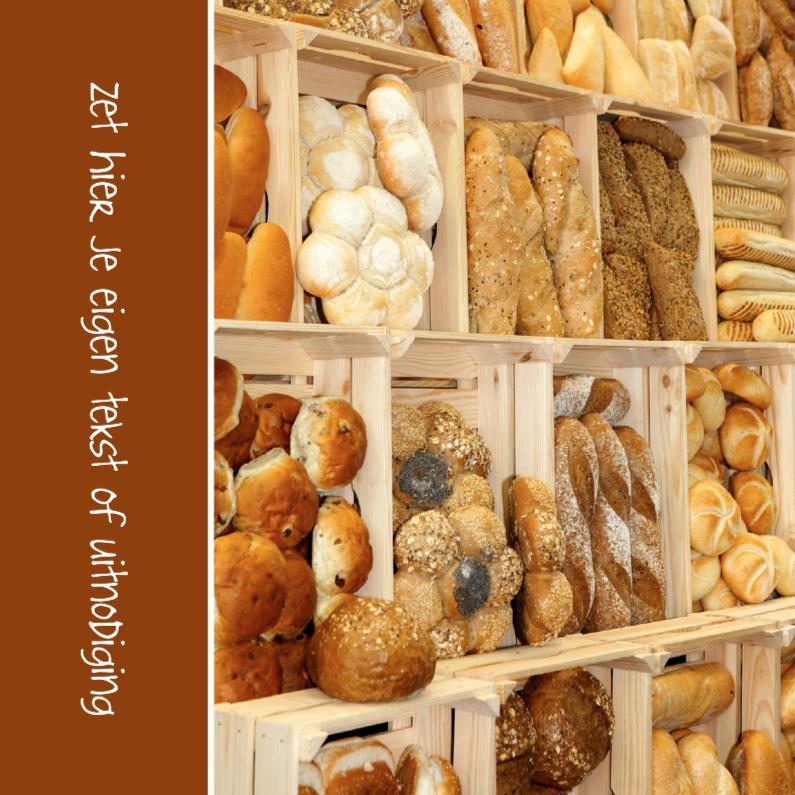 Uitnodigingen - Ontbijtje - Brood 2