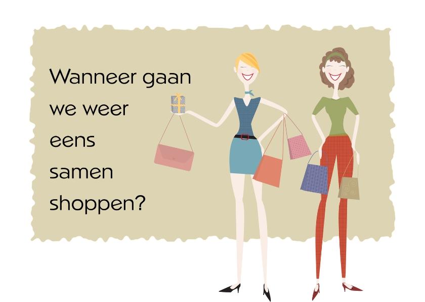 Uitnodigingen - Samen shoppen