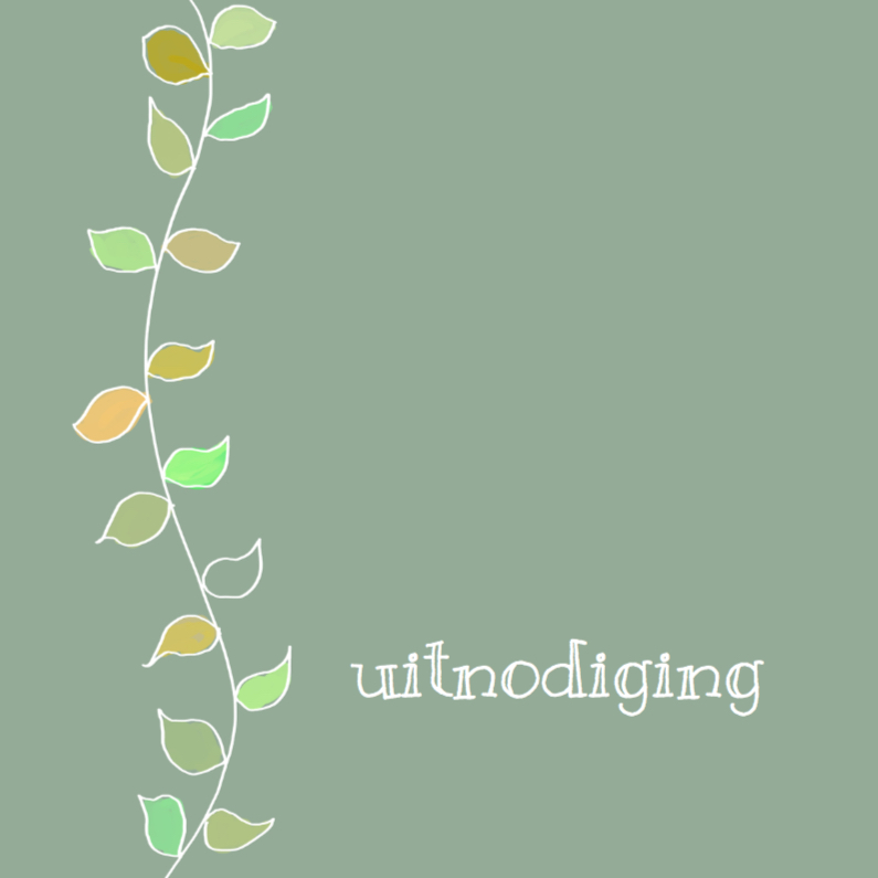 Uitnodigingen - Simple beautyful