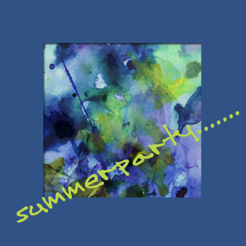Uitnodigingen - Summerparty