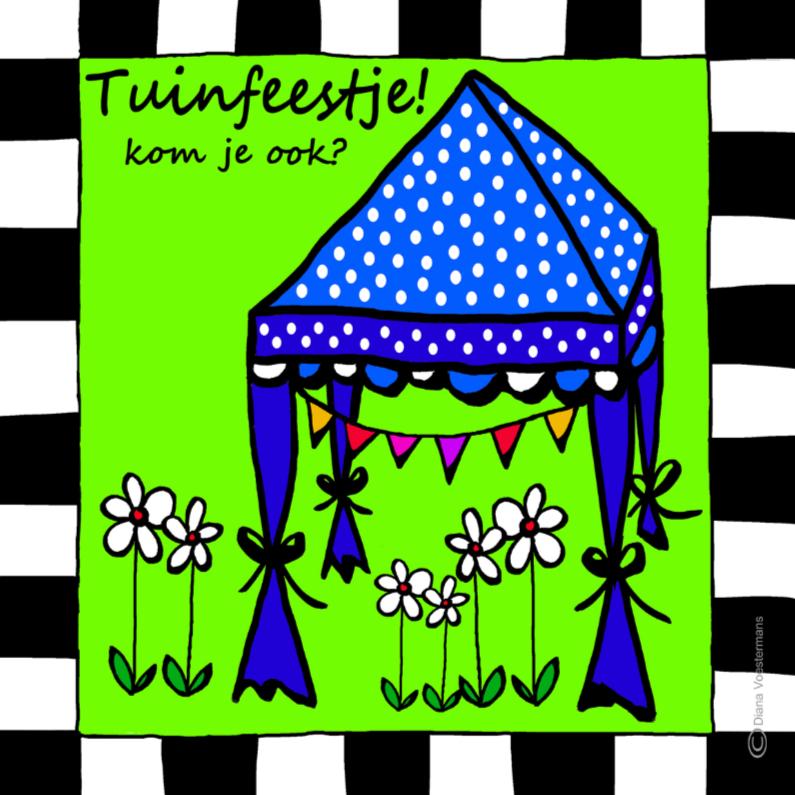 Uitnodigingen - Tuinfeestje kom je ook