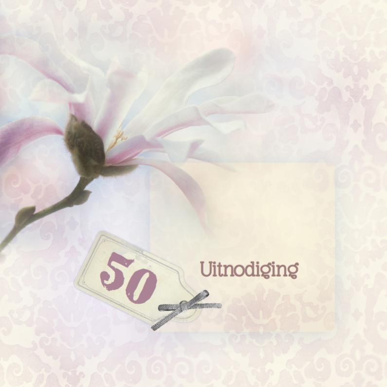 Uitnodigingen - Uitnodigen met magnolia