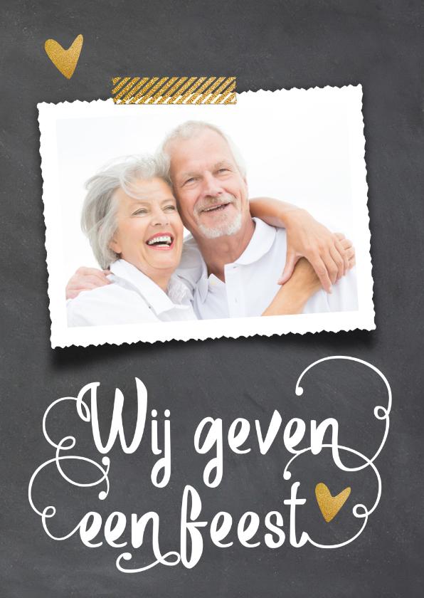 Uitnodigingen - Uitnodiging 50 jaar huwelijk - LO