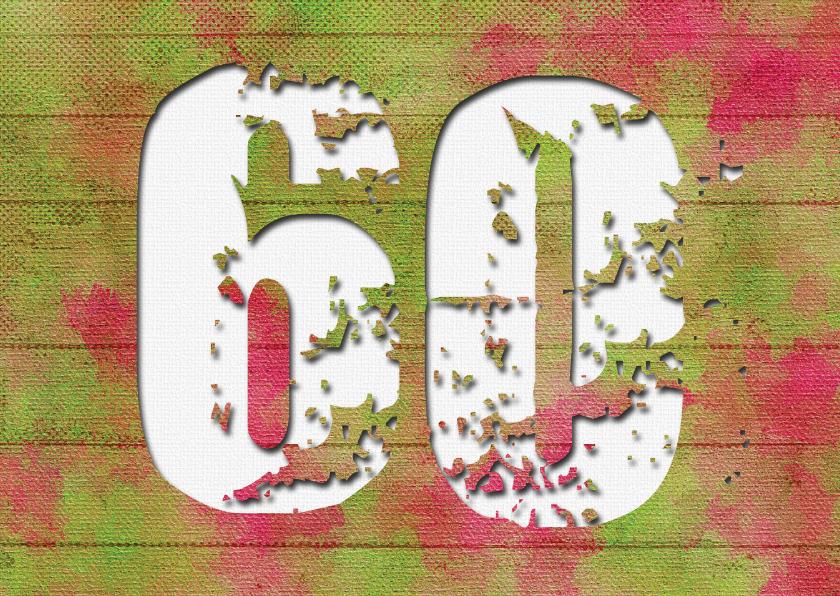Uitnodigingen - Uitnodiging 60 jaar houtlook