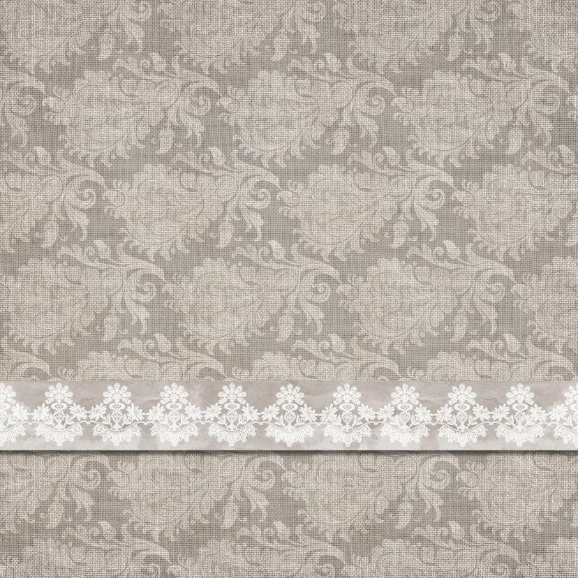Uitnodigingen - Uitnodiging barok op linnen