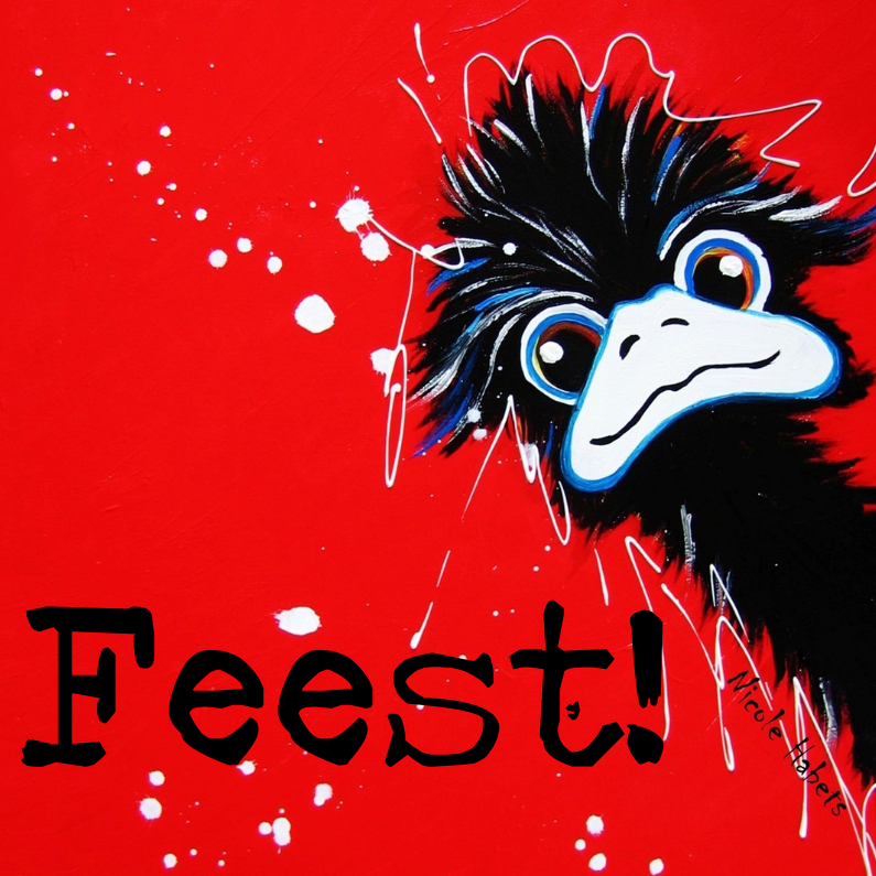 Uitnodigingen - Uitnodiging emu