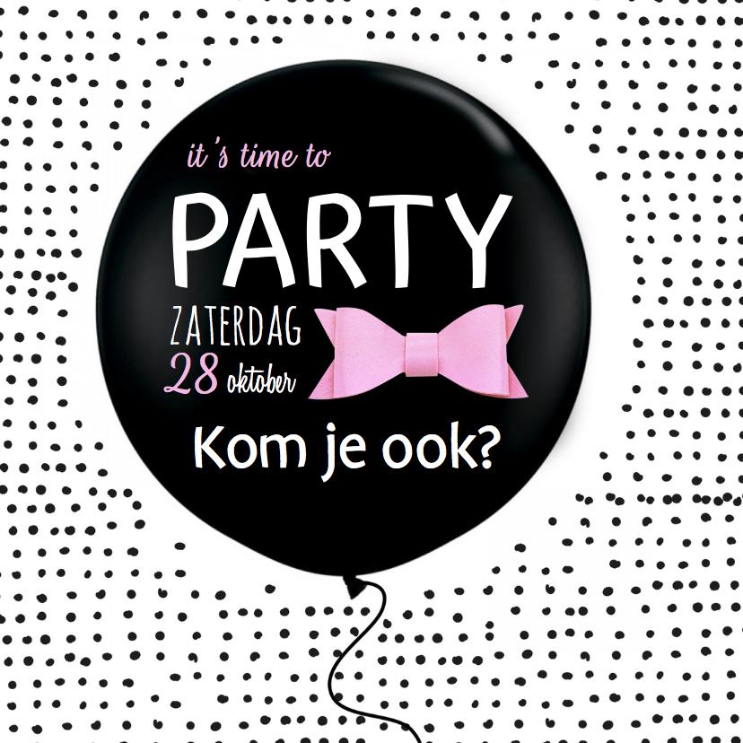 Uitnodigingen - Uitnodiging Girls