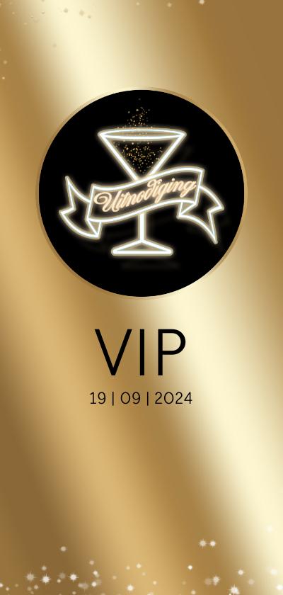 Uitnodigingen - Uitnodiging Golden Ticket RB