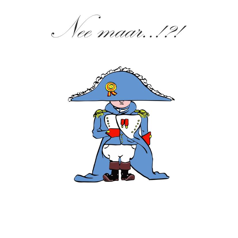 Uitnodigingen - Uitnodiging Grappig Napoleon