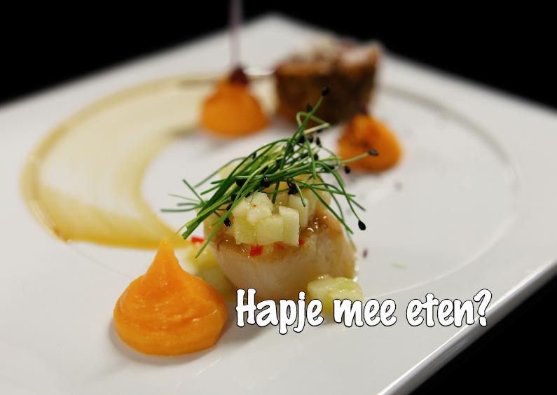 Uitnodigingen - Uitnodiging Hapje mee eten - OTTI