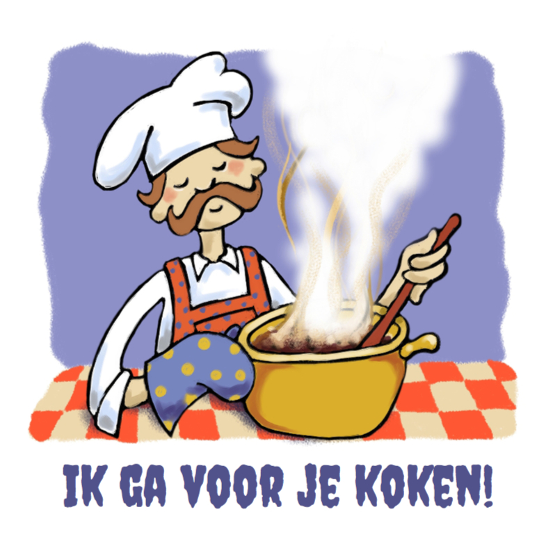 Uitnodigingen - Uitnodiging Koken