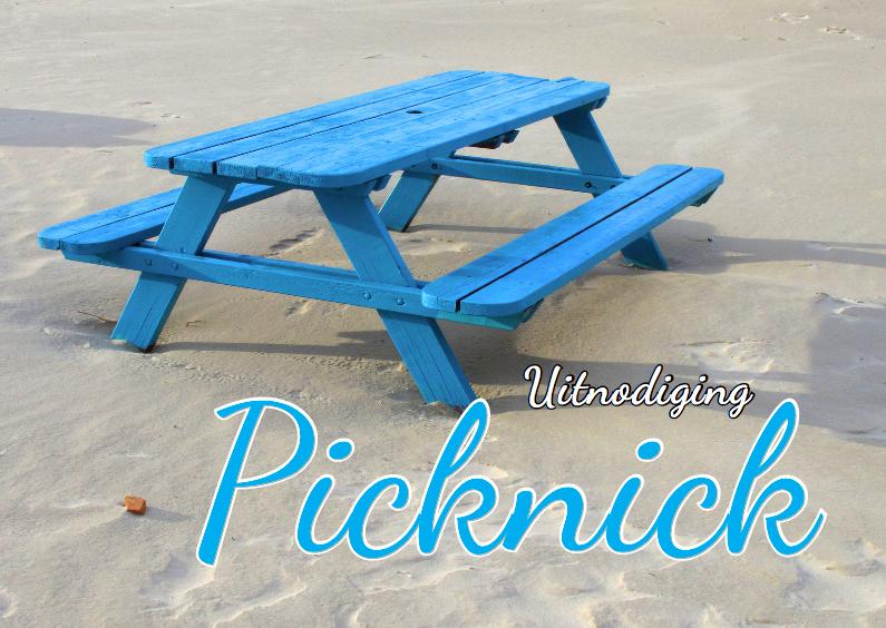 Uitnodigingen - Uitnodiging Picknick
