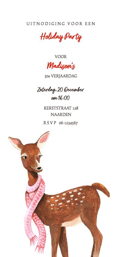 Uitnodigingen - Uitnodiging voor een winter feestje