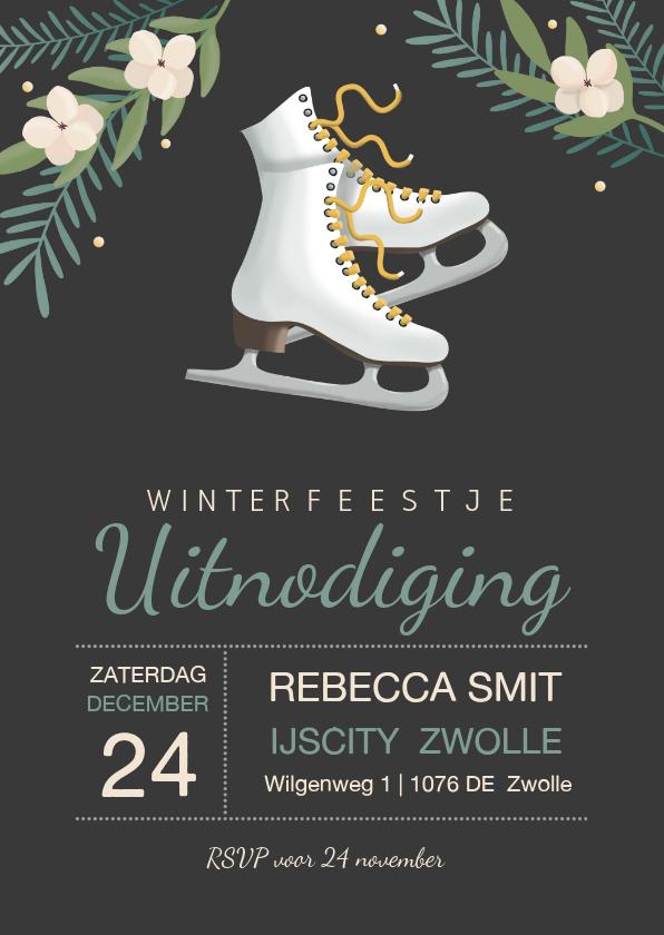 Uitnodigingen - Uitnodiging winterfeest