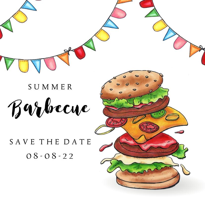 Uitnodigingen - uitnodigingen summer barbecue