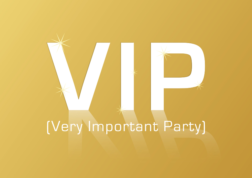 VIP Very Important Party GLANS 1