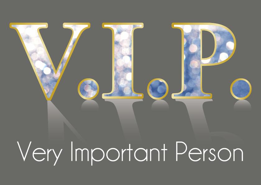 Uitnodigingen - VIP Wenskaart