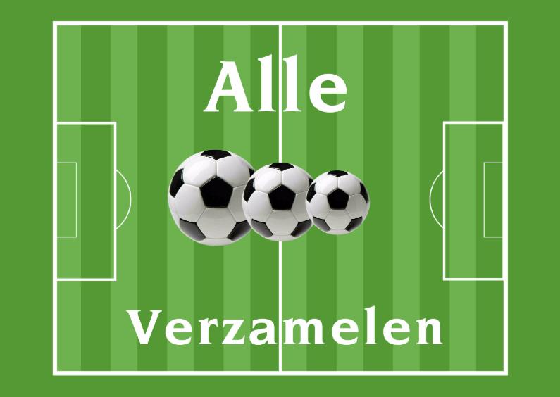 Uitnodigingen - Voetbal-Ballen
