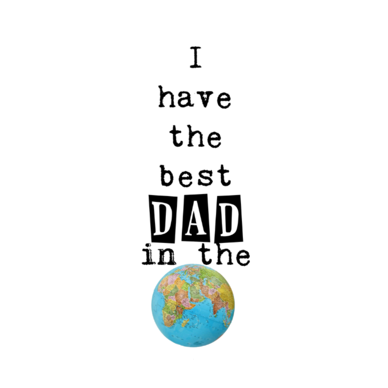 Vaderdag kaarten - Best dad in the World