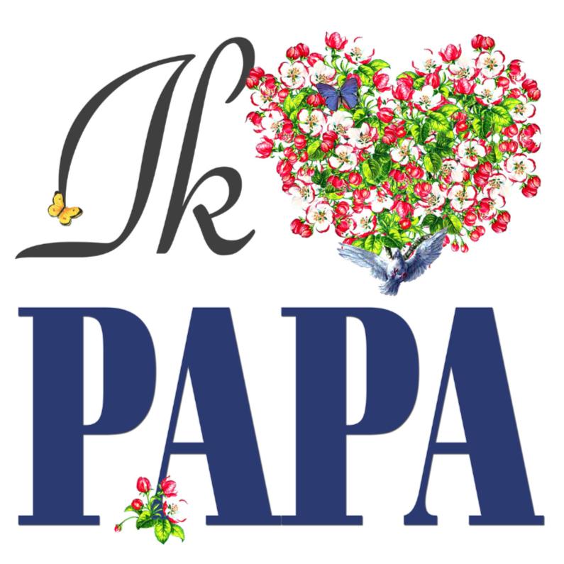 Vaderdag kaarten - KendieKaart-Vaderdag-Hearts