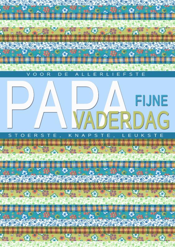 Vaderdag kaarten - KendieKaart-Vaderdag-Jaquard rh