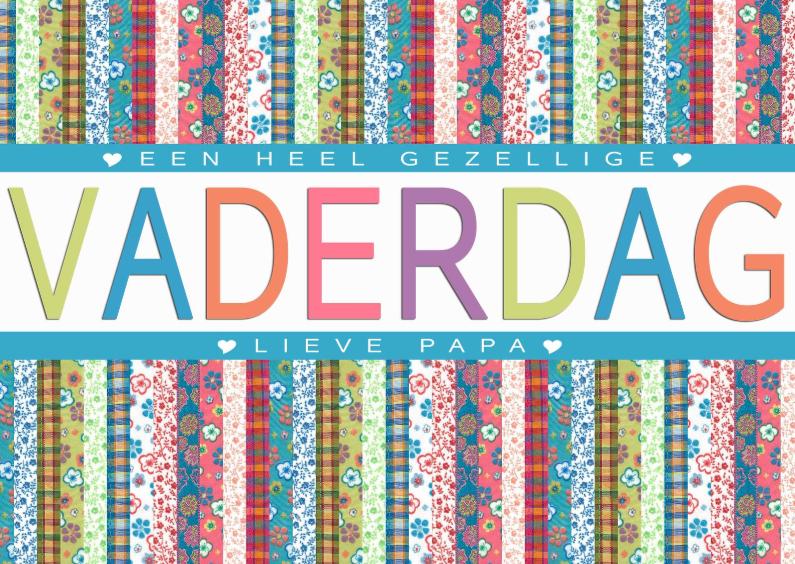Vaderdag kaarten - KendieKaart-Vaderdag-Jaquard