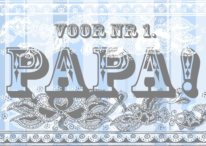 Vaderdag kaarten - KendieKaart-Vaderdag-Stripes
