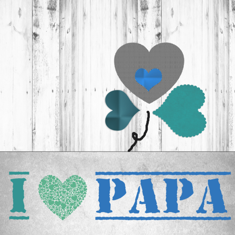 Vaderdag kaarten - papa-made4you