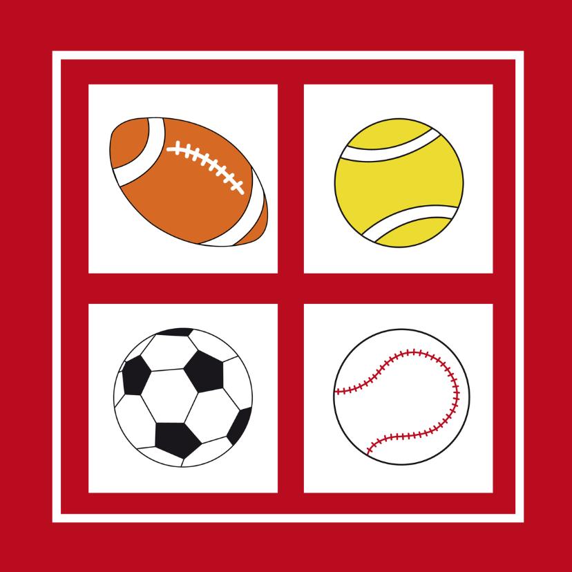 Vaderdag kaarten - Sport