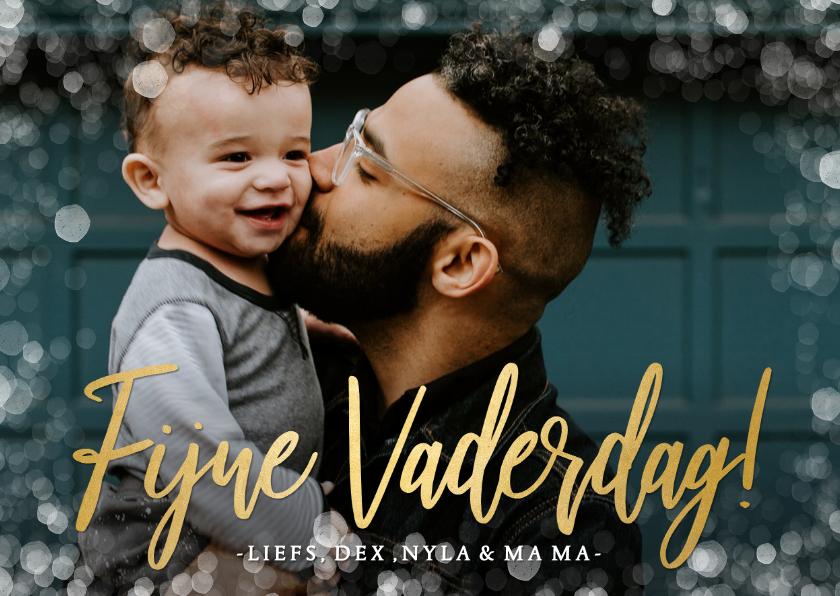 Vaderdag kaarten - Stijlvolle en persoonlijke vaderdagkaart met eigen fotos