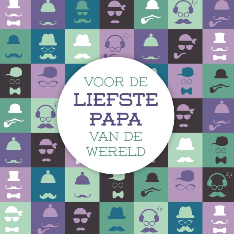 Vaderdag kaarten - Vaderdag gezicht 5