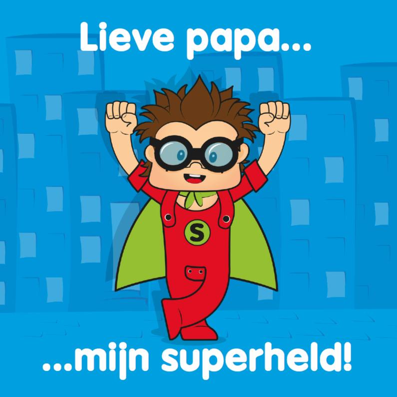Vaderdag kaarten - Vaderdag voor jou papa held 20