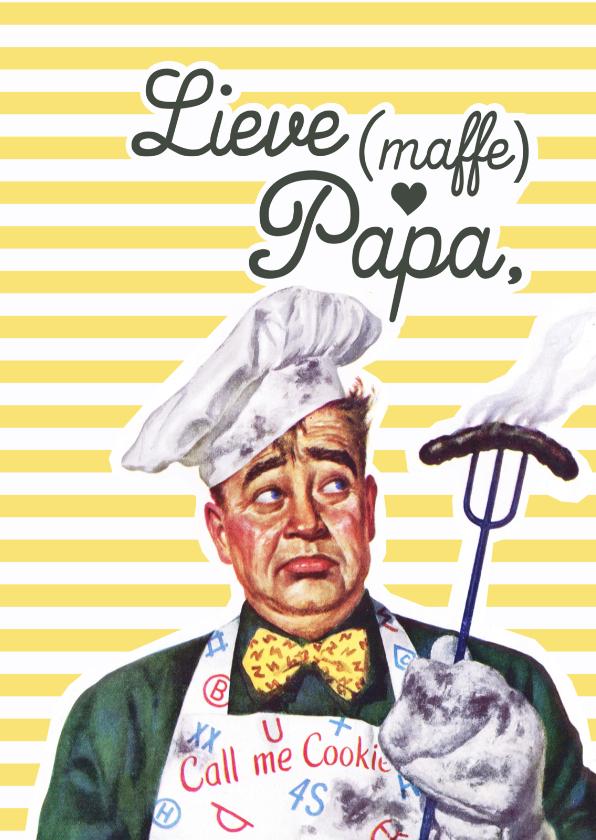 Vaderdag kaarten - Vintage Lieve papa