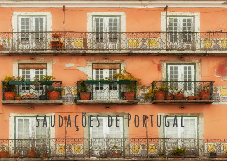 Vakantiekaarten - balkonnetjes