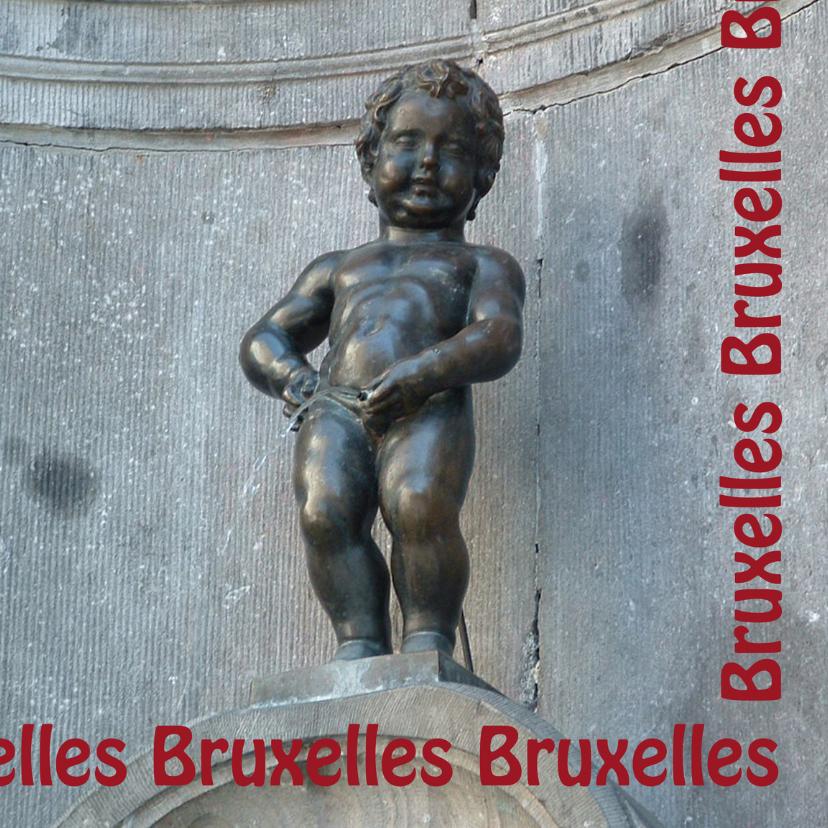 Vakantiekaarten - Bruxelles