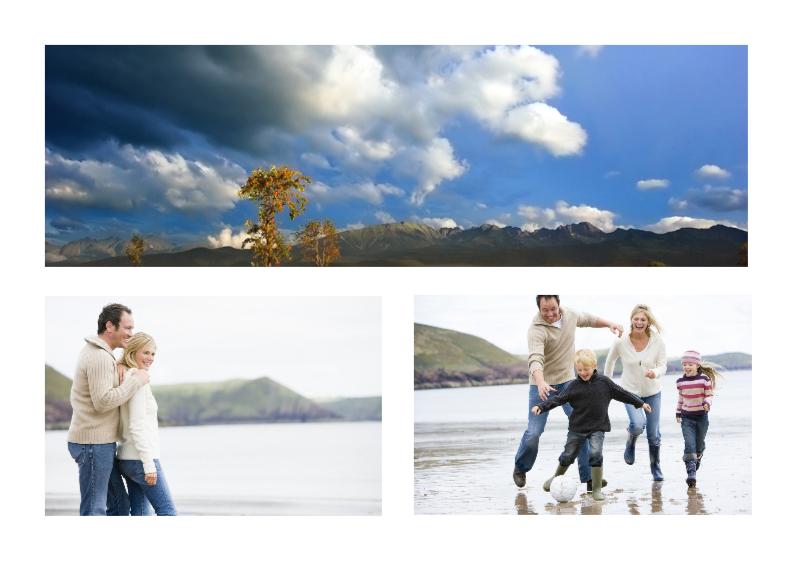 Vakantiekaarten - Collage Ansichtkaart - BK