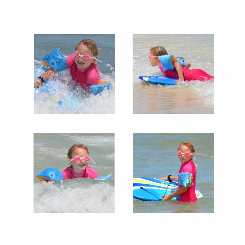 Vakantiekaarten - Collage kaart vakantie - DH