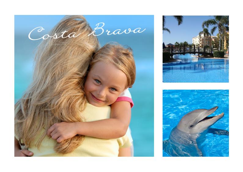 Vakantiekaarten - Collage Vakantie - BK