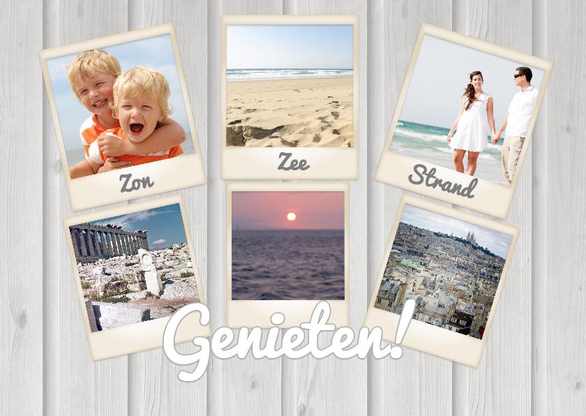 Vakantiekaarten - Collage Vakantie Genieten - BK