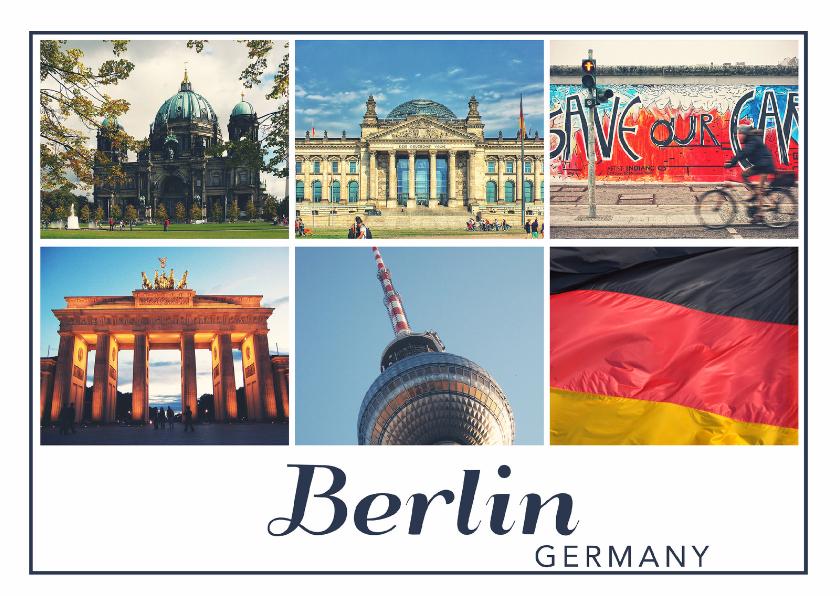 Vakantiekaarten - De groeten... Berlin - DH