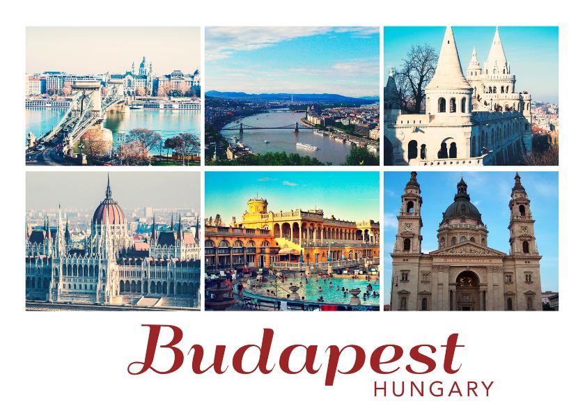 Vakantiekaarten - De groeten... Boedapest - DH