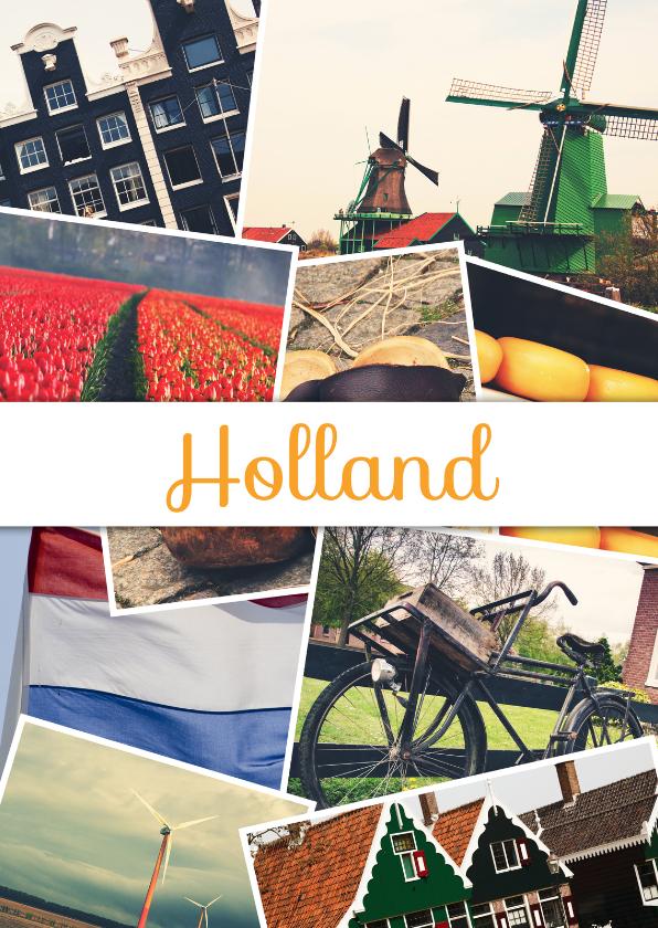 Vakantiekaarten - De groeten... Holland - DH