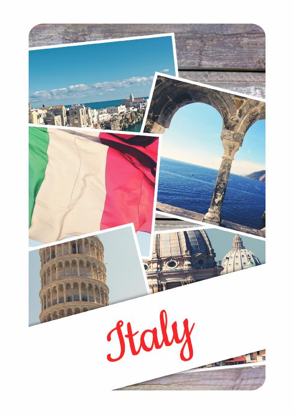 Vakantiekaarten - De groeten... Italy - DH