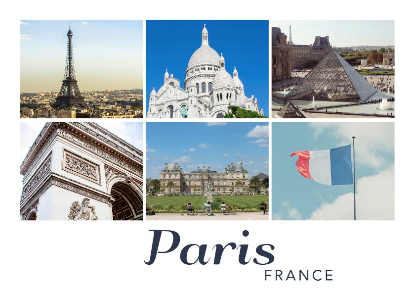 Vakantiekaarten - De groeten... Paris - DH