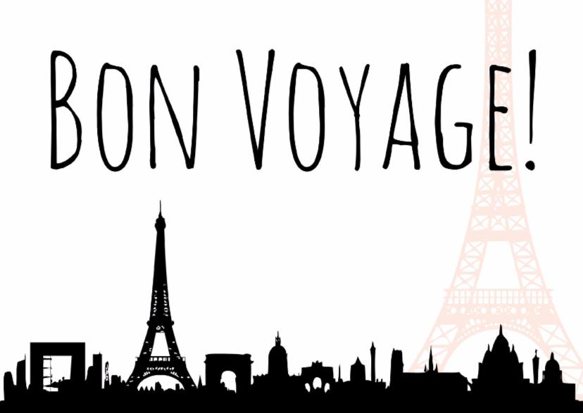 Vakantiekaarten - Goede Reis-kaart Paris - WW