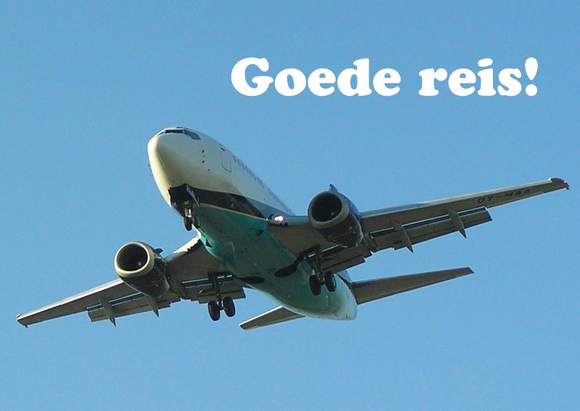 Goede Reis Vliegtuig 2 Vakantiekaarten Kaartje2go